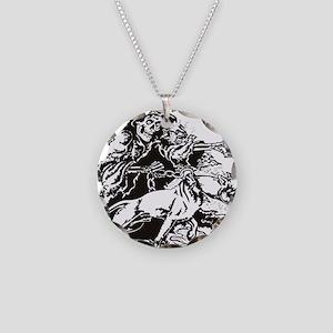 GRIMPITT Necklace Circle Charm