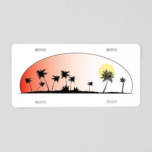 ENDLESSSUMMERIOWAwhite Aluminum License Plate