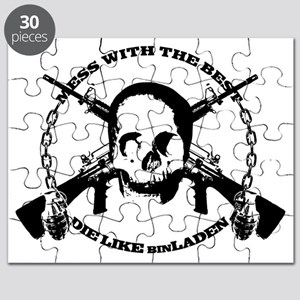 DIE_LIKE_BINLADEN_whitet Puzzle
