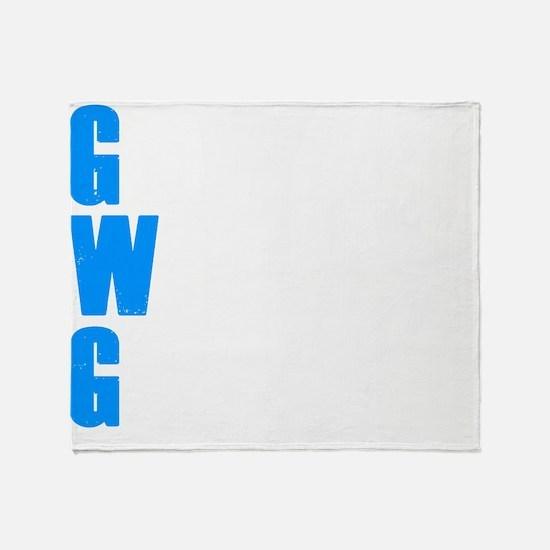 goodwithoutDARK Throw Blanket