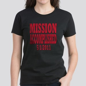 mission accomplished Women's Dark T-Shirt