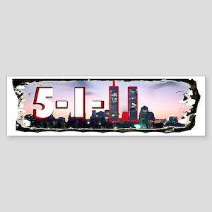 5_1_11bumperstickerosamabinladeni Sticker (Bumper)