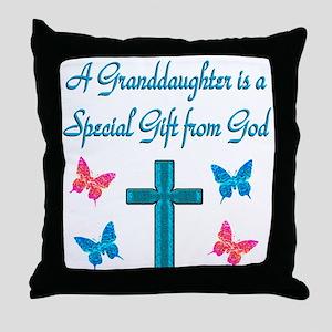 CUTE GRANDDAUGHTER Throw Pillow