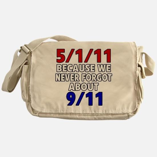 5111 because never forgot 911 Messenger Bag