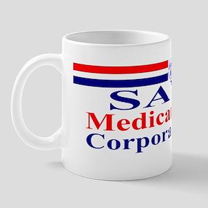 Save Medicare from Greed-rwb ss bumper  Mug