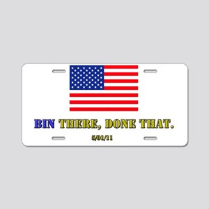 BIN-LADEN Aluminum License Plate