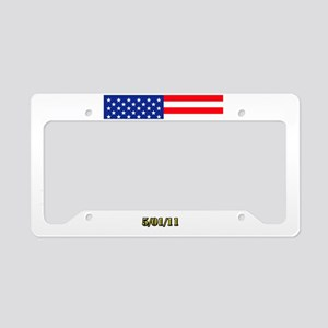 BIN-LADEN License Plate Holder