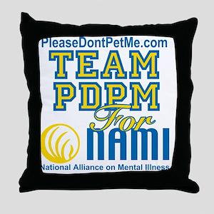Team PDPM for Nami Throw Pillow