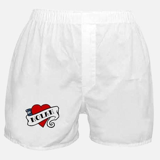 Nolan tattoo Boxer Shorts