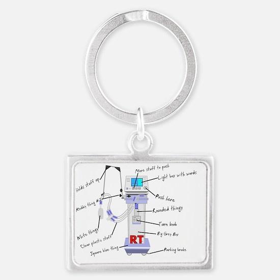 RT Thingy Landscape Keychain