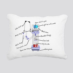 RT Thingy Rectangular Canvas Pillow
