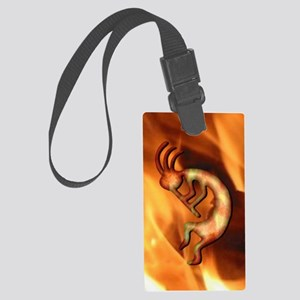 Kokopelli Fire Iphone 3G Large Luggage Tag