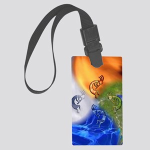Kokopelli Power Iphone 3G Large Luggage Tag
