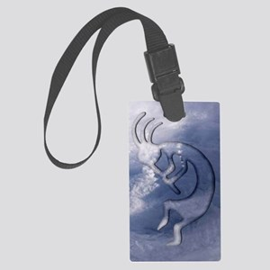 Kokopelli Wind Iphone 3G Large Luggage Tag