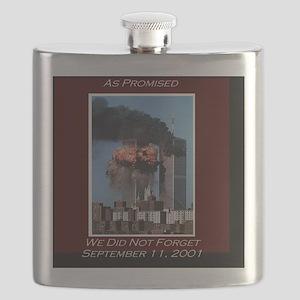 WeNotForget911LRG Flask