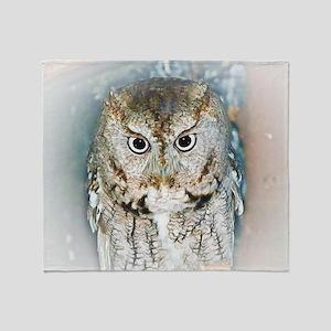OWL (2) BIG Throw Blanket