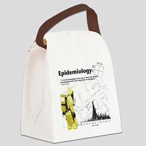 Epidemiology Canvas Lunch Bag