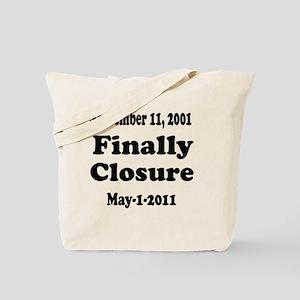 Osama_closure Tote Bag