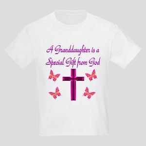 BEST GRANDDAUGHTER Kids Light T-Shirt