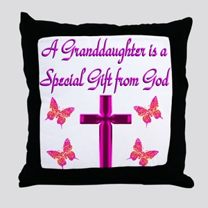 BEST GRANDDAUGHTER Throw Pillow