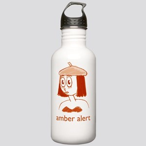 Amber-Obverse-Large Stainless Water Bottle 1.0L