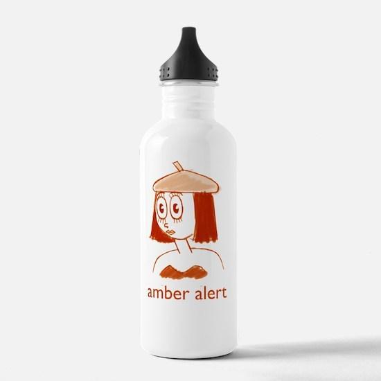Amber-Obverse-Large Water Bottle