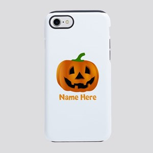 Customized Pumpkin Jack O Lant iPhone 7 Tough Case