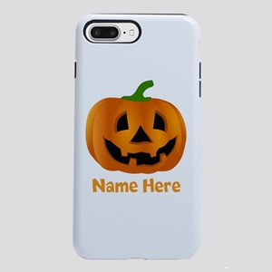 Customized Pumpkin Jack O iPhone 7 Plus Tough Case