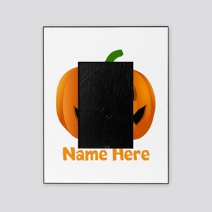 Customized Pumpkin Jack O Lantern Picture Frame