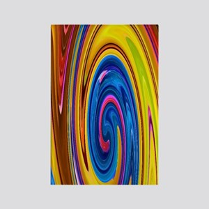Iphone4 Awesome Abstract Art Slic Rectangle Magnet