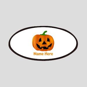 Customized Pumpkin Jack O Lantern Patch