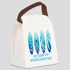 Board Meeting (Light) Canvas Lunch Bag