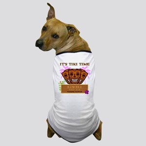 Its Tiki Time Dog T-Shirt