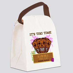 Its Tiki Time Canvas Lunch Bag