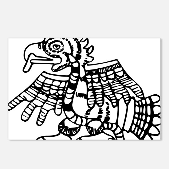 maya harpy eagle Postcards (Package of 8)