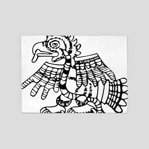 maya harpy eagle 5'x7'Area Rug