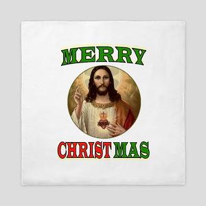 CHRISTMAS CHRIST Queen Duvet