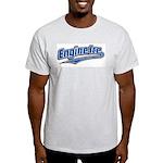 EXCLUSIVE - Baseball Logo Ash Grey T-Shirt