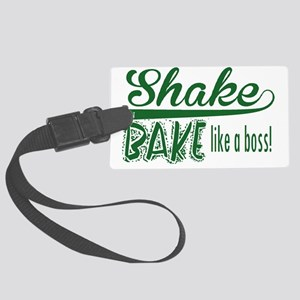 ShakenBake:like a boss Large Luggage Tag
