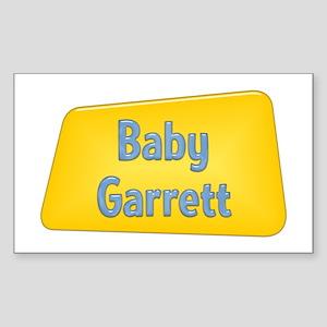 Baby Garrett Rectangle Sticker