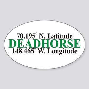 DeadHorse Oval Sticker
