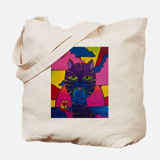 Hip Cat Tote Bag