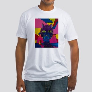 Hip Cat Fitted T-Shirt