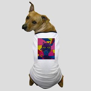 Hip Cat Dog T-Shirt