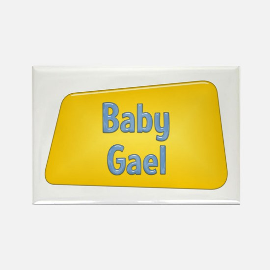 Baby Gael Rectangle Magnet