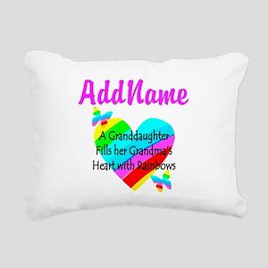 LOVE MY GRAMMY Rectangular Canvas Pillow