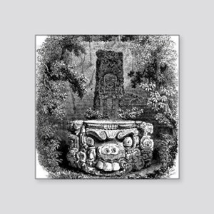 "copan altar Square Sticker 3"" x 3"""