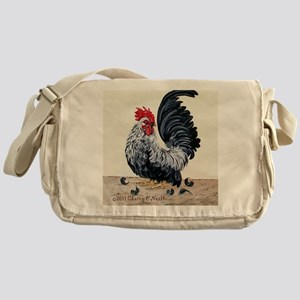 1 chicken card Messenger Bag