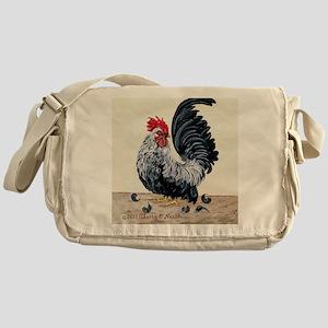 1 chicken card Messenger Bag