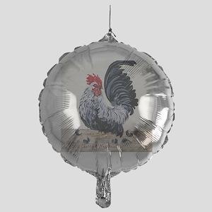 1 chicken card Mylar Balloon